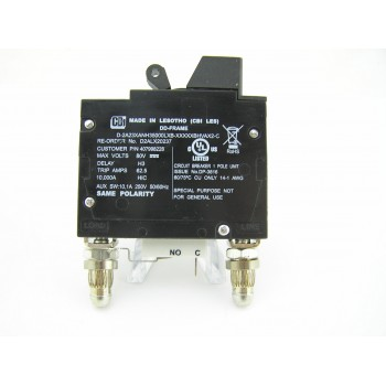 CBI 50 AMP DC BULLET CIRCUIT BREAKER MADE FOR GE 407998228