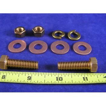 "LMH-1434 Lug Mounting Hardware Kit 1/4"" X 3/4"", TMH-262"