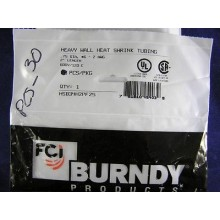 "BURNDY HEATSHRINK TUBING HSB34H2PF25, 3/4' DIA X 2"" LENGTH (1 lot of 30)"