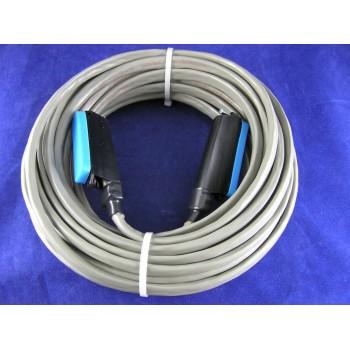 25 pair Telco Cable Cat3 PBX KSU RJ21 50 FT M/M