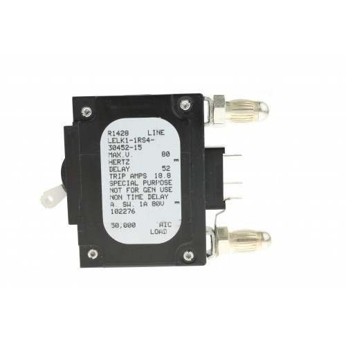 airpax 15 amp circuit bullet breaker lelk1-1rs4-30452-15