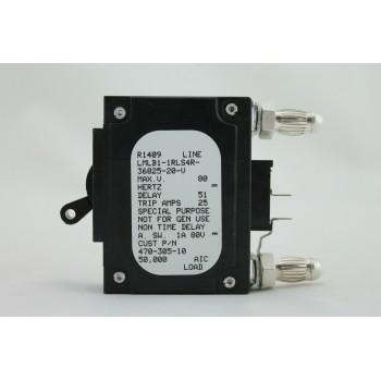 IMLK1-1RLS4-29937-20 AIRPAX 20 AMP BULLET BREAKER