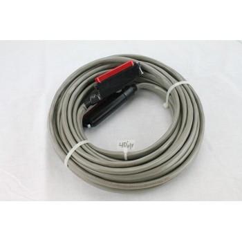 25 pair Telco Cable Cat3 PBX KSU RJ21 40 FT F/F