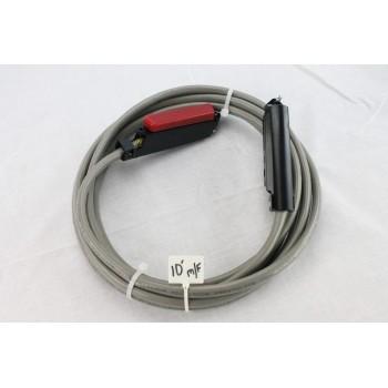 25 pair Telco Cable Cat 3 PBX AMP RJ21 10 FT F/M