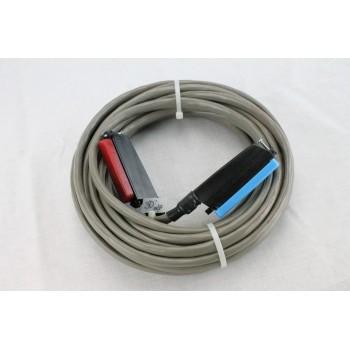 25 pair Telco Cable Cat 3 PBX AMP RJ21 30 FT F/M