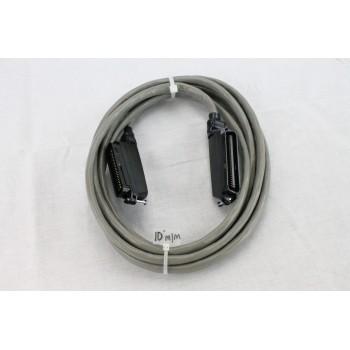 25 pair Telco Cable Cat 3 PBX AMP RJ21 10 FT M/M