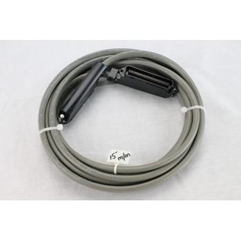 25 pair Telco Cable Cat 3 PBX AMP RJ21 15 FT M/M