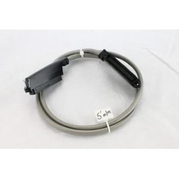 25 pair Telco Cable Cat 3 PBX AMP RJ21 5 FT M/M