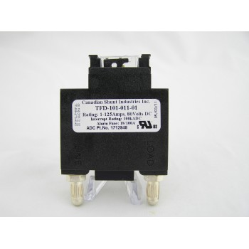 CANADIAN SHUNT INDUSTRIES INC. FUSED DISCONNECT 1-125 AMPS TFD-101-011-01