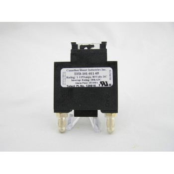 CANADIAN SHUNT INDUSTRIES INC. FUSED DISCONNECT 1-125 AMPS TFD-101-011-05