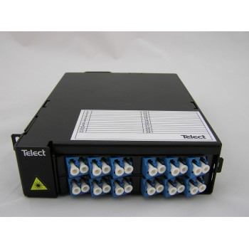 TELECT 24 PORT FIBER OPTIC PATCH MODULE LC/UPC ELF-PC24-LC00